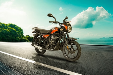 Bajaj CT110 Front Right View