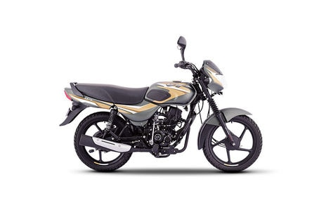 Bajaj CT110 Matte Olive Green  with Yellow Decals