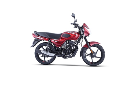 Bajaj CT110 Red With Bright Red
