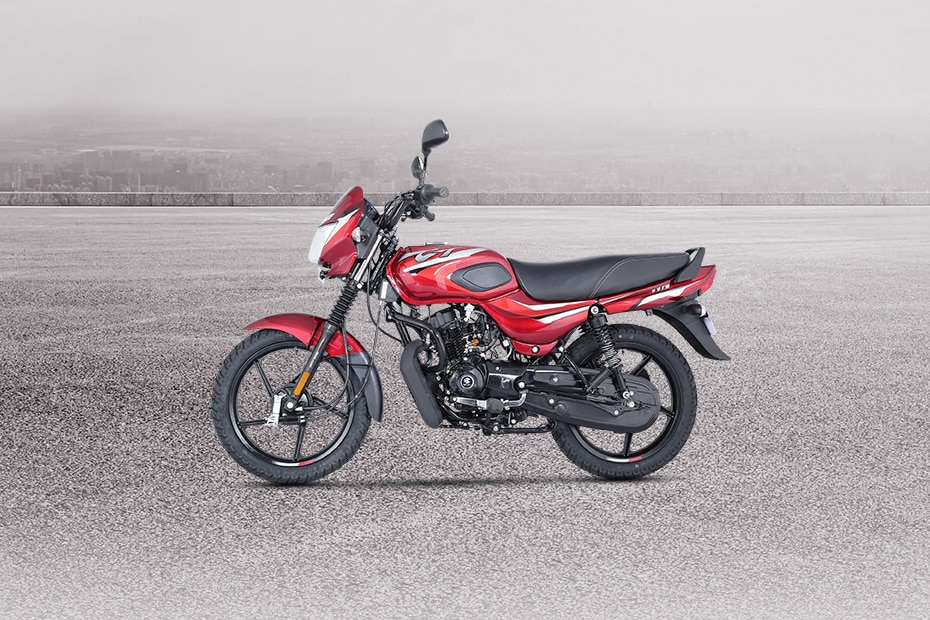 Bajaj CT110 Left Side View