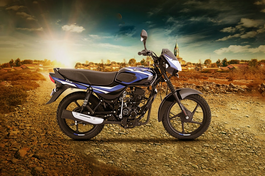 Bajaj CT110 Right Side View