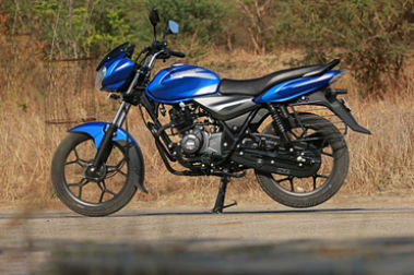 Bajaj Discover 110 Left Side View