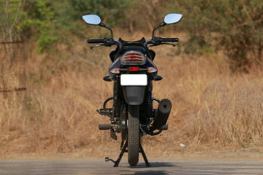 Bajaj Discover 110 Rear View