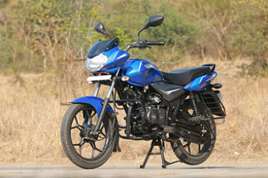 Bajaj Discover 110 Front Left View
