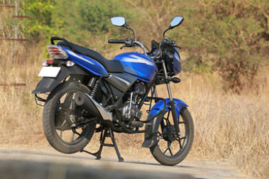Bajaj Discover 110 Rear Right View