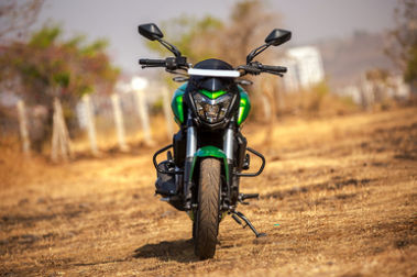 2019 Bajaj Dominar 400 Front View