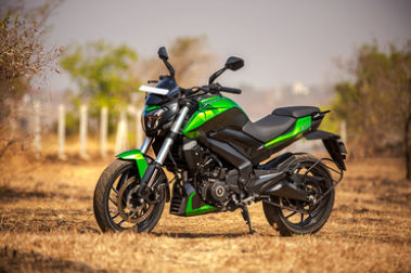 2019 Bajaj Dominar 400 Front Left View