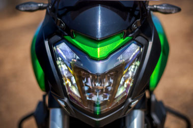 2019 Bajaj Dominar 400 Head Light