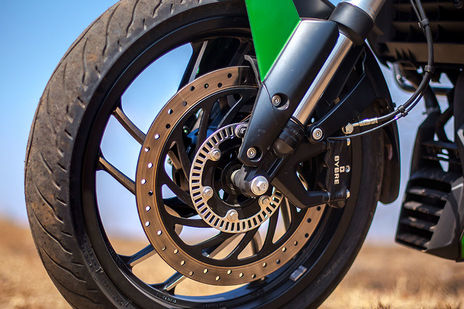 Bajaj Dominar 400 Front Brake View