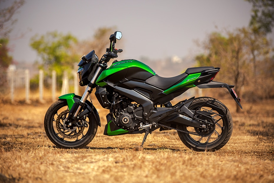 2019 Bajaj Dominar 400 Left Side View