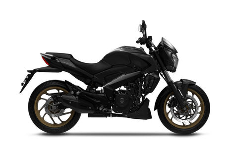 Bajaj Dominar 400 2018 Rock Matte Black