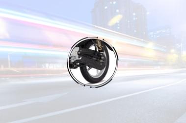 बजाज प्लेटिना 100 Rear Tyre View