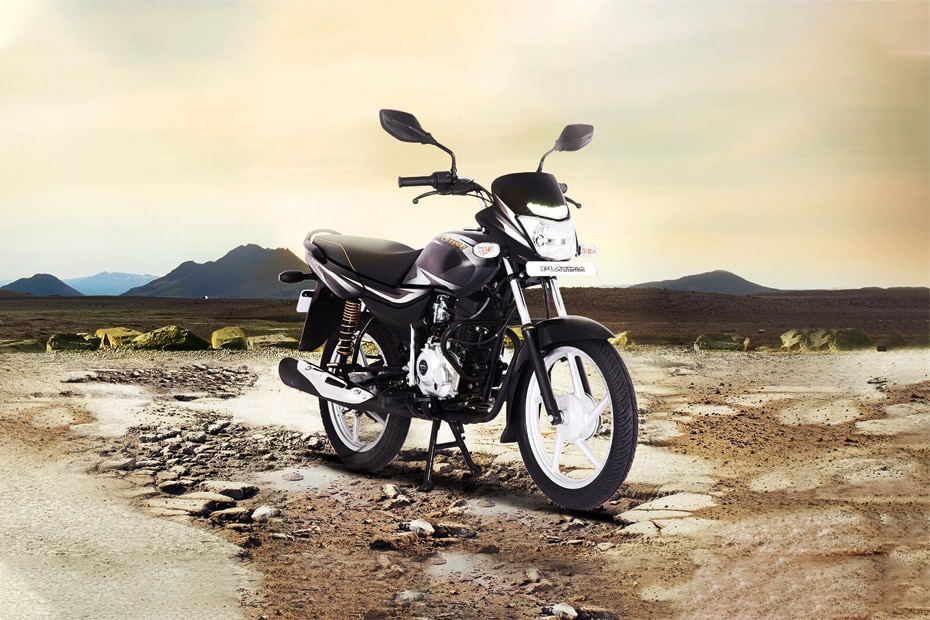 Bajaj Platina 100 Front Right View