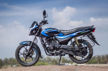 Bajaj Platina 110 H Gear Left Side View