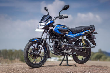Bajaj Platina 110 H Gear Front Left View