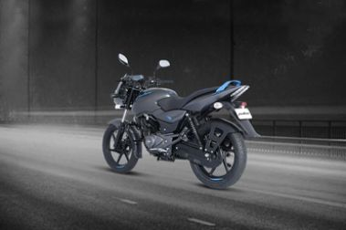 Bajaj Pulsar 125 Neon Rear Left View