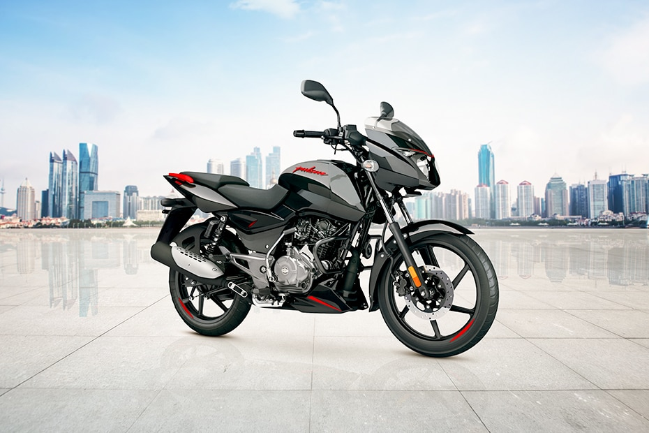 बजाज Pulsar 125 Neon Front Right View