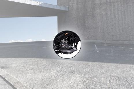 Bajaj Pulsar NS160 Engine