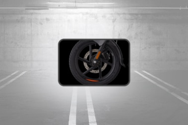 बजाज पल्सर 180एफ Front Tyre View