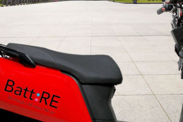 BattRE Electric Scooter Seat