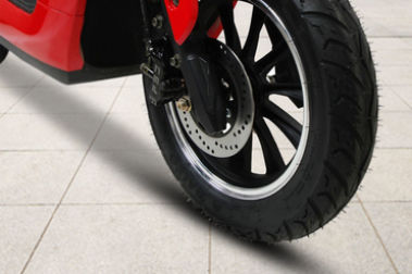 BattRE Electric Scooter Front Brake View