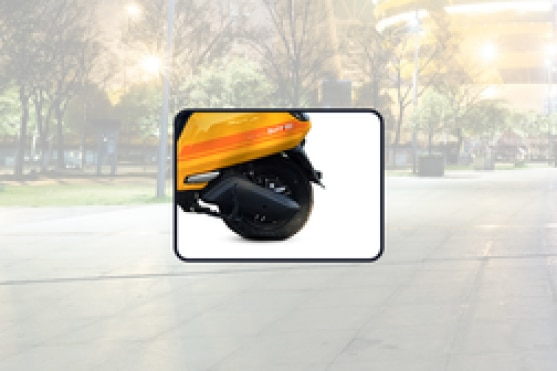 BattRE Electric IOT Rear Tyre View
