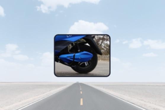 BattRE Electric LoEV Rear Tyre View