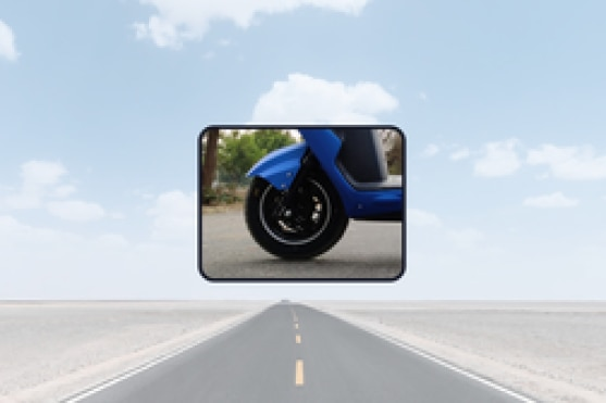 BattRE Electric LoEV Front Tyre View