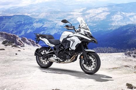 Benelli TRK 502 White