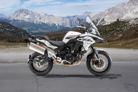 Benelli TRK 502 X Pure White