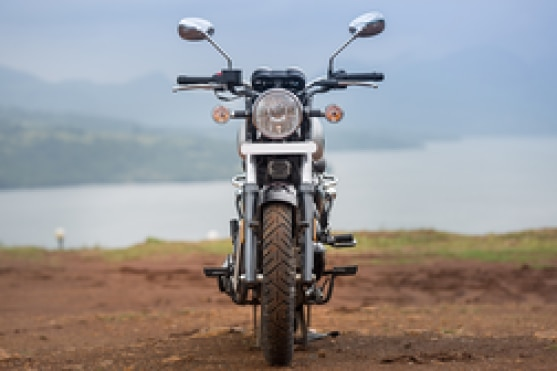 Benelli Imperiale 400 Front View