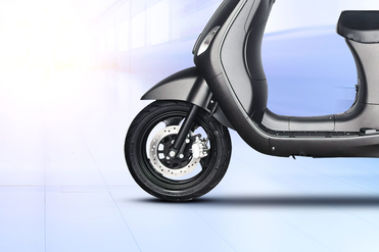 Benling Aura Front Tyre View