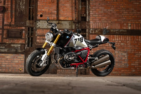 BMW R nineT Right Side View