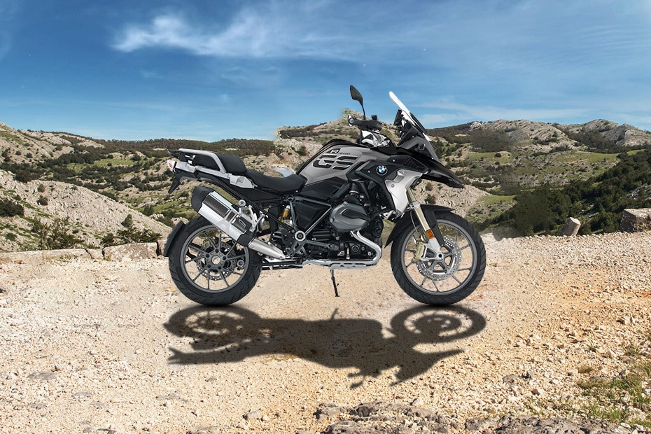BMW R 1200 GS Right Side View