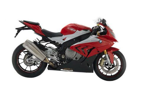 BMW S1000 RR Racing Red/ Light white
