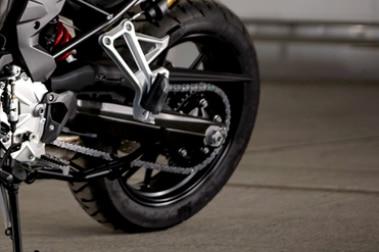 BMW F 750 GS Rear Tyre View