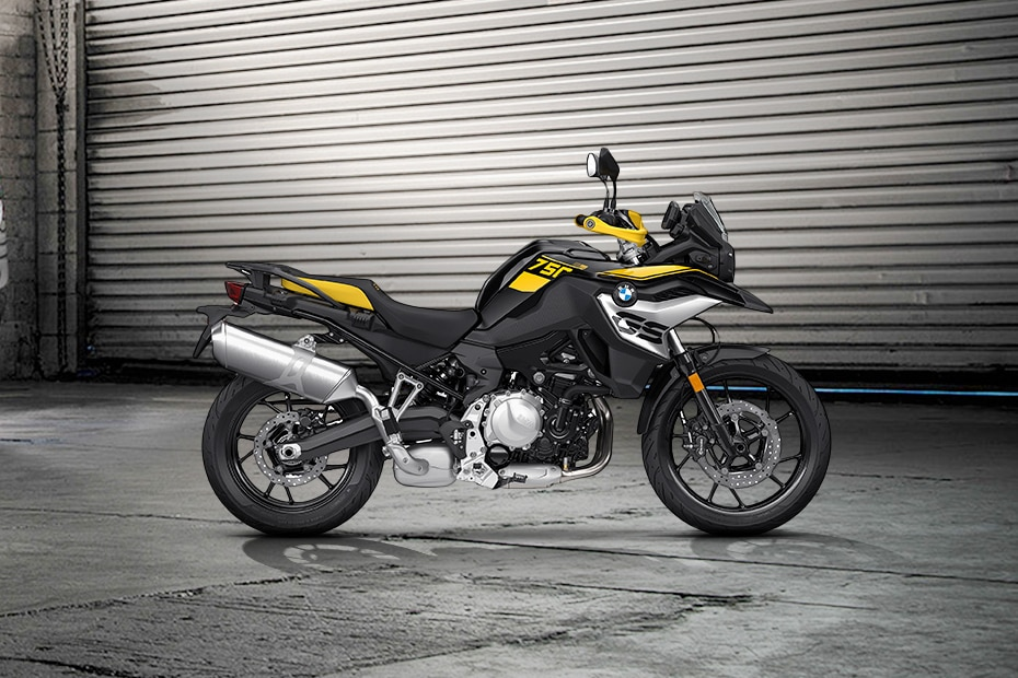 BMW F 750 GS Right Side View