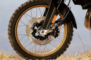BMW F 850 GS Front Tyre View