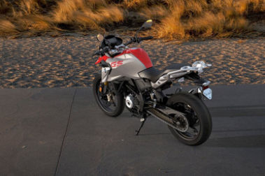 BMW G 310 GS Rear Left View