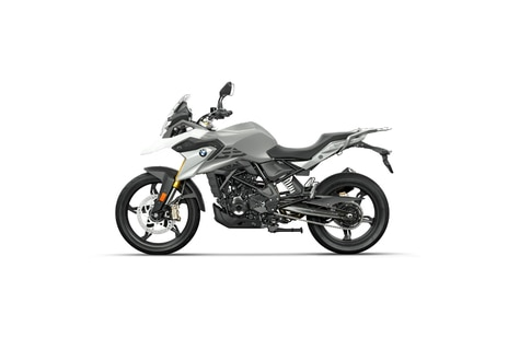 BMW G 310 GS Polar White