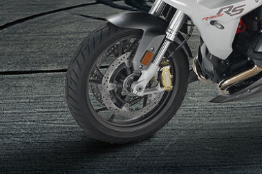 BMW R 1200 RS Front Tyre View