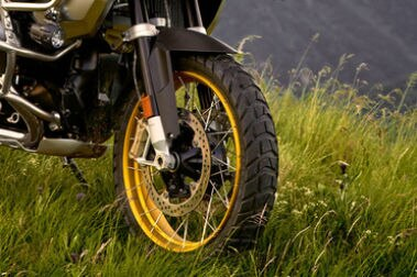 BMW R 1250 GS Adventure Front Tyre View