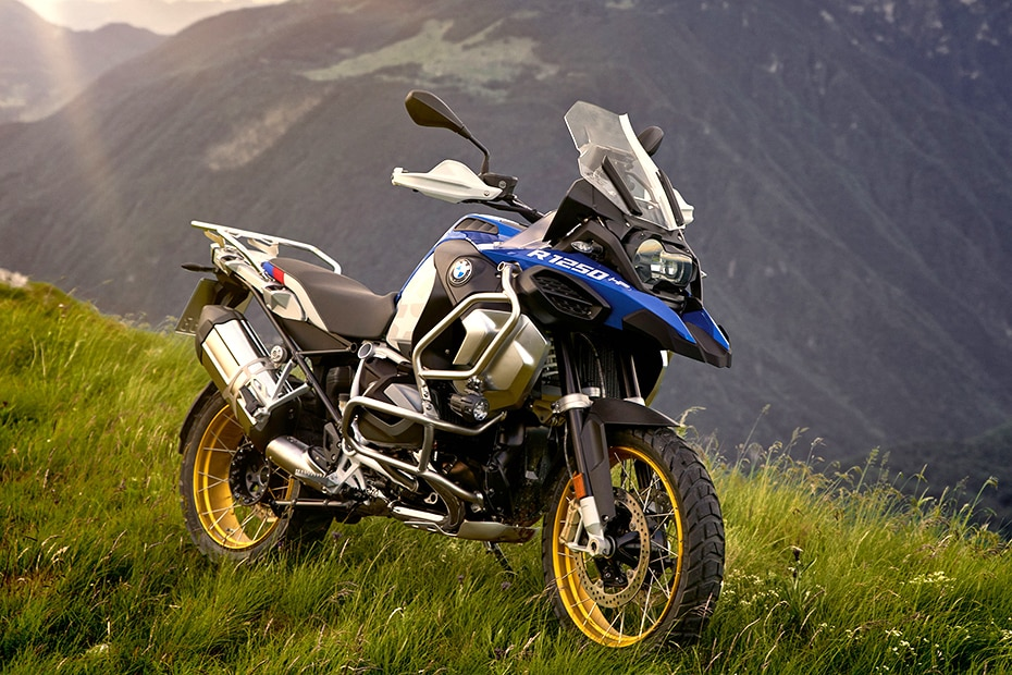 BMW R 1250 GS Adventure Front Right View