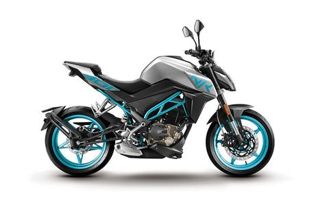 CFMoto 300NK Blue With Grey