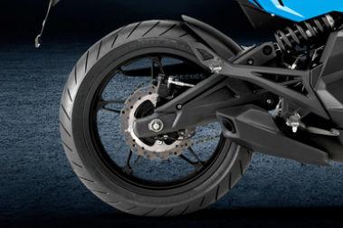 CFMoto 650NK Rear Tyre View