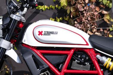 Ducati Scrambler Desert Sled Fuel Tank