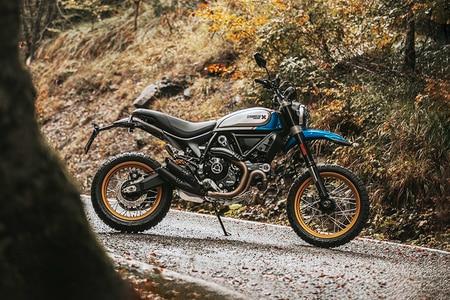 Ducati Scrambler Desert Sled Right Side View