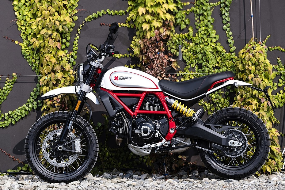 Ducati Scrambler Desert Sled Left Side View