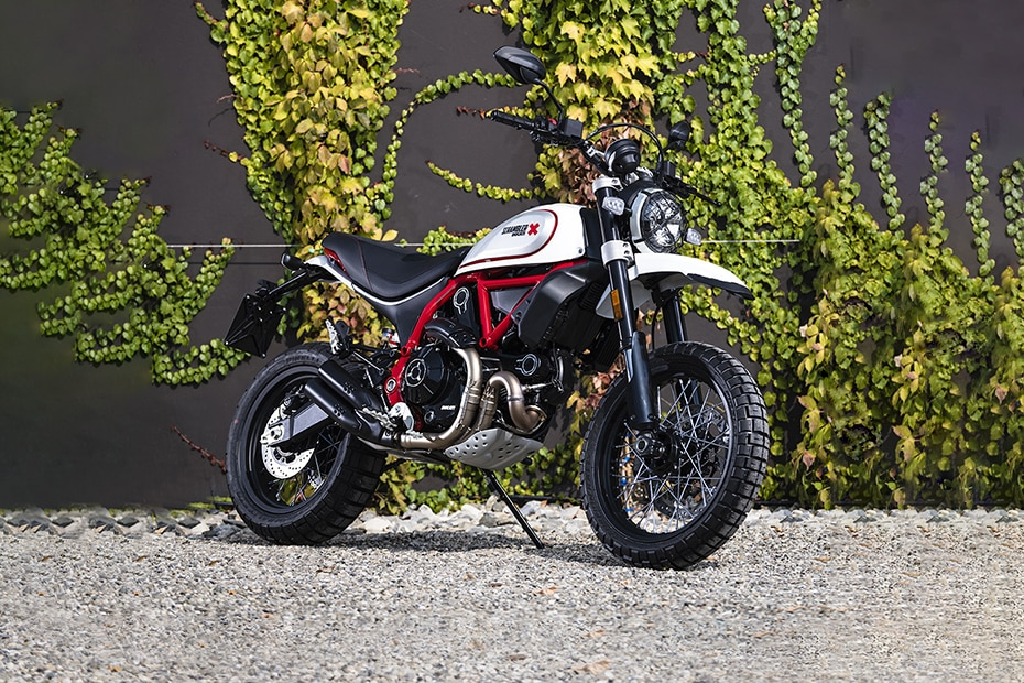 Ducati Scrambler Desert Sled Front Right View