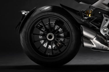 Ducati Diavel 1260 Rear Tyre View